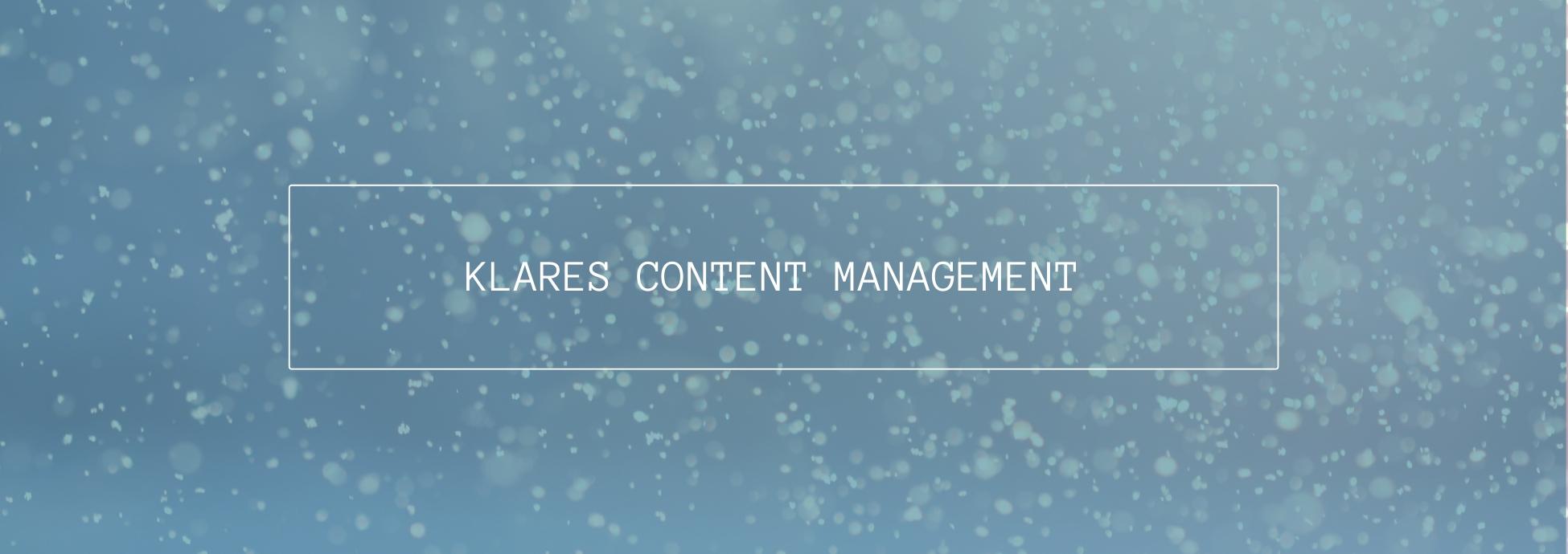 header content management